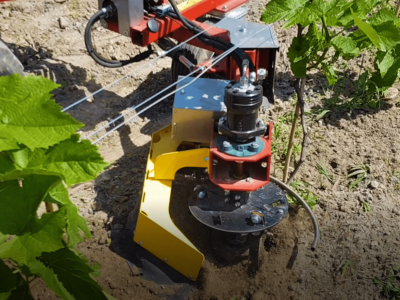 Auto weeding machine