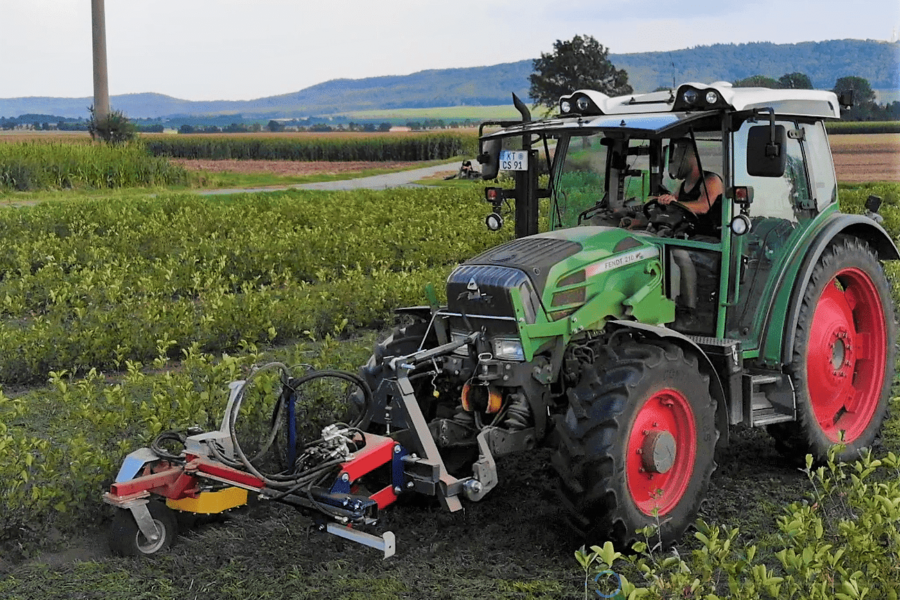 Vineyard cultivator LUCY