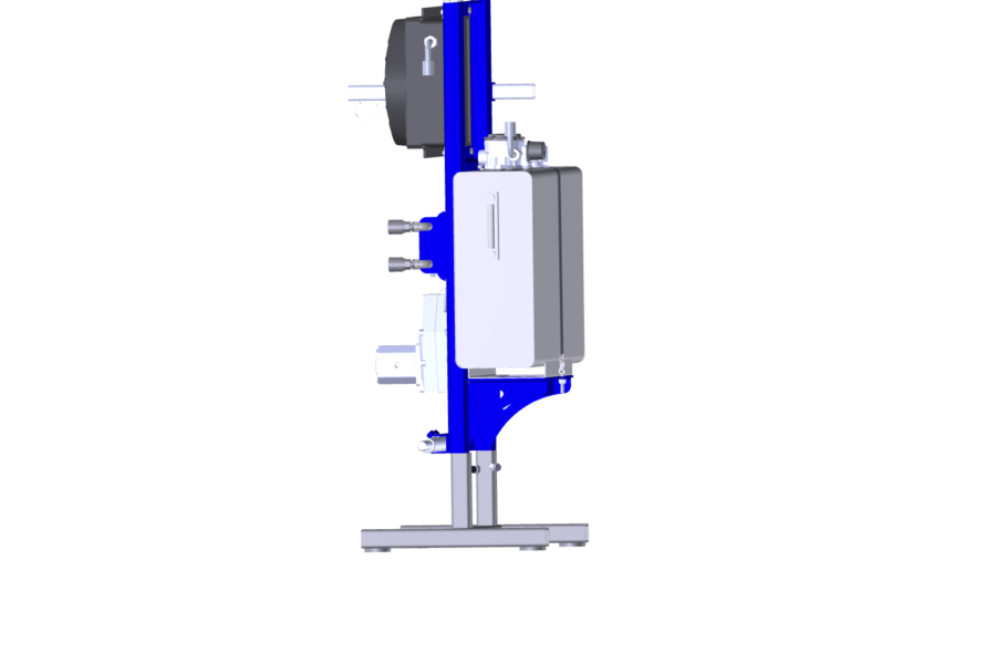 Hydraulic power pack 3 point linkage