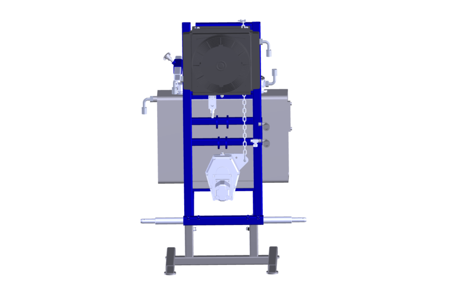 Hydraulic power pack 3 point hitch