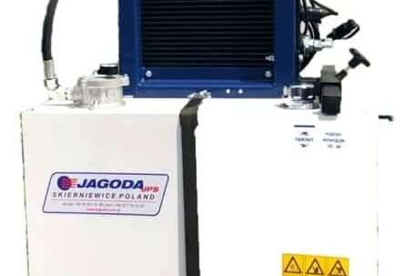 Hydraulic power pack PTO source
