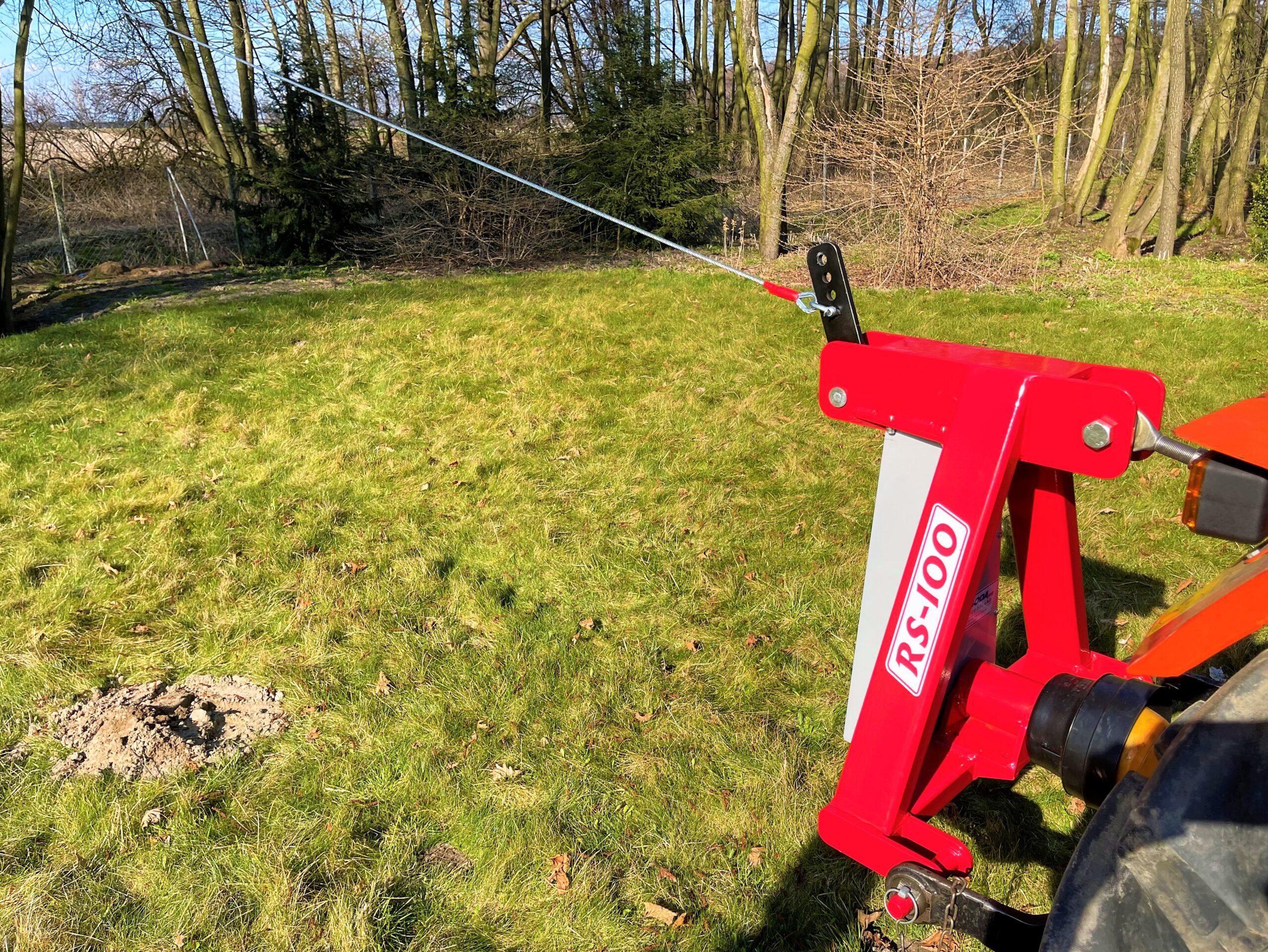 secoueur d'arbres à câble RS100